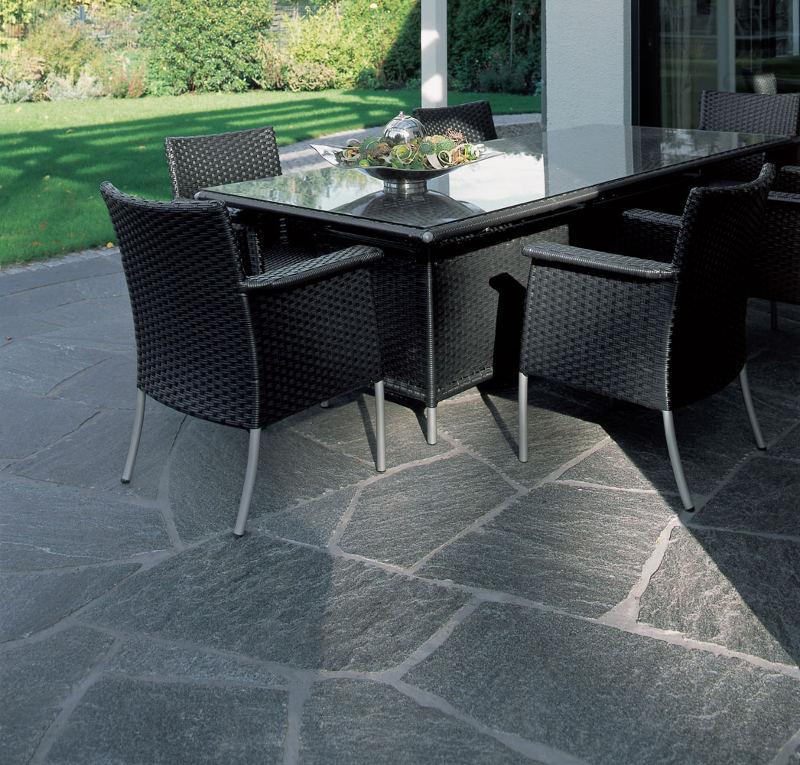 Granit-Polygonalplatten