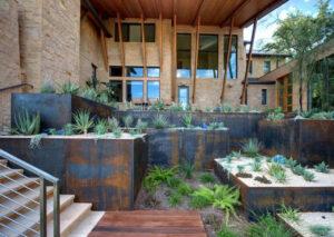 Cortenstahl in der Gartengestaltung 2