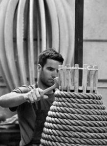 Seiltechnik beim Töpfern